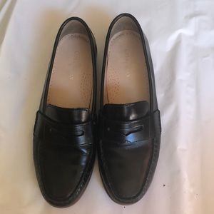 1f07a43ec52 Cole Haan Shoes - Cole Haan Alexa Penny Moc II Black Leather Loafers